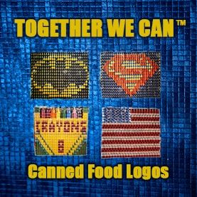 Canned Food Logo Team Building Csr Charity Philanthropy