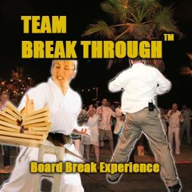 board-break-through-corporate-team-building-activity Corporate Teambuilding - Professional Teambuilding