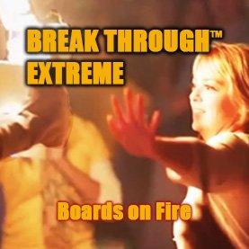 board-break-through-on-fire-corporate-team-building-activity Popular Corporate Team Building Activities