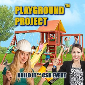build-a-playground-charity-team-building CSR Team Building - Corporate Social Responsability Team Activities & Events