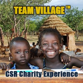 build-a-village-team-building-activity CSR Team Building - Corporate Social Responsability Team Activities & Events