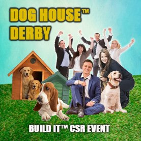 dog-house-derby-charity-team-building-noborder23 CSR Team Building - Corporate Social Responsability Team Activities & Events