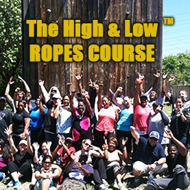 high-low-ropes-course-corporate-team-building-activity Ropes Course -  Corporate Team Building Activity