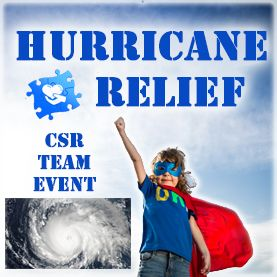 hurricane-relief-csr-team-building-event CSR Team Building - Corporate Social Responsability Team Activities & Events