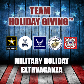 team-holiday-giving-military Team Holiday Giving™ - CSR Team Building Charity & Philanthropy Events
