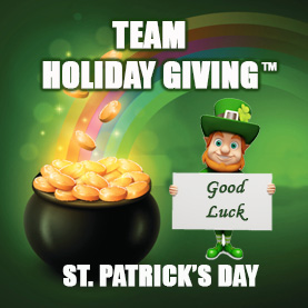 team-holiday-giving-st.-patricks-day-1 Team Holiday Giving™ - CSR Team Building Charity & Philanthropy Events