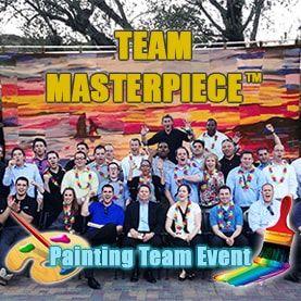 team-masterpiece-painting-teambuilding-activity Corporate Teambuilding - Professional Teambuilding