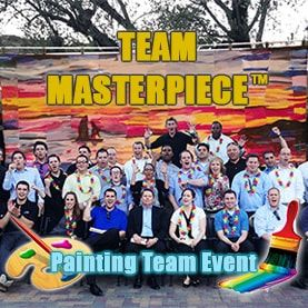 team-masterpiece-painting-teambuilding-activity Corporate Teambuilding - Professional Teambuilding